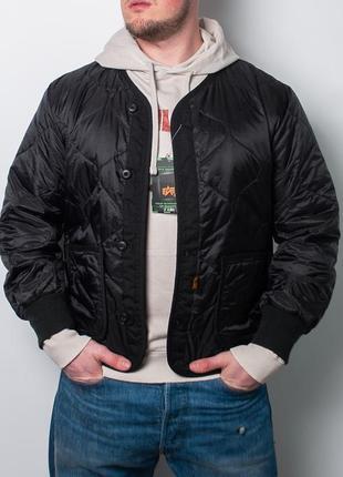 Крутая куртка  alpha industries als/92 field liner jacket