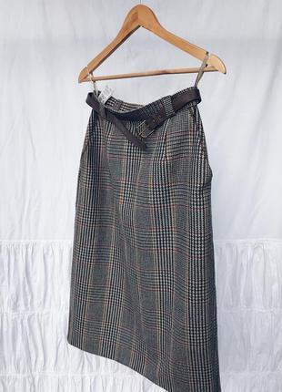 Шерстяна юбка від st michael