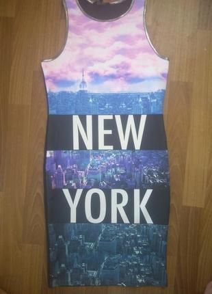Платье new-york