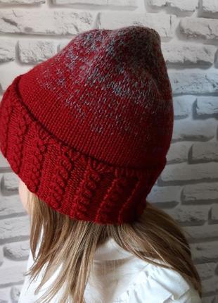 Вязана шапка ,  шапка для дівчаток,  зимова шапка,  шапка біні, осіння шапка