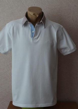 Luxary sportswear- классическое, белое поло в идеале, наш р.50