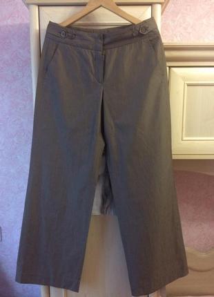 Летние широкие брюки палаццо, 12 размер
