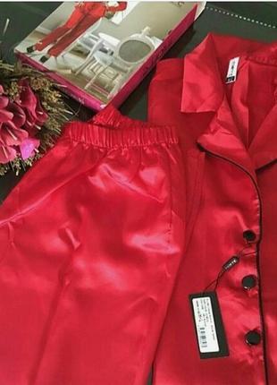 Пижама с брюками и рубашкой с длинным рукавом4 фото