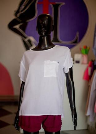 Хлопковая футболка блуза от wear me