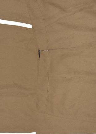 Горчичная юбка с разрезом prettylittlething4 фото