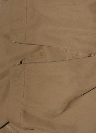 Горчичная юбка с разрезом prettylittlething5 фото