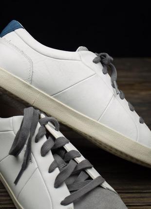 Мужские кожаные кроссовки geox respira оригинал р-423 фото
