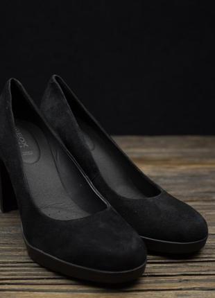 Мегастильные замшевые туфли geox respira оригинал р-37