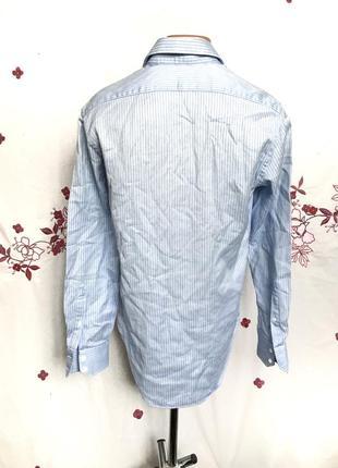 Стильная рубашка в полоску3 фото
