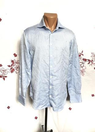 Стильная рубашка в полоску2 фото