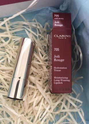 Clarins joli rouge помада для губ # 705