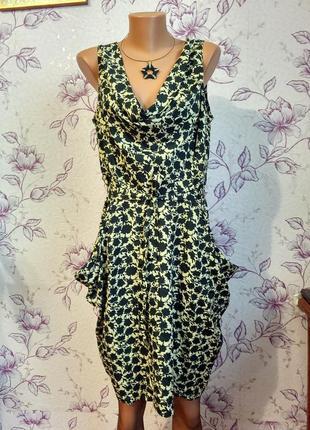 Платье с карманами uttam london плаття з карманами хит сезона