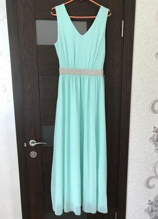 Платье в пол длинное платье юбка майка выпускное