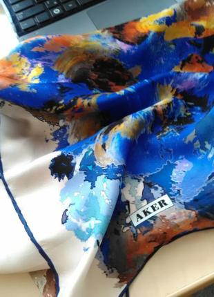 Шикарнейший шёлковый платок aker