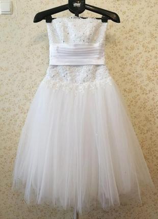 Свадебное платье балерина style