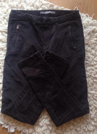 Стильные зауженные штаны zara