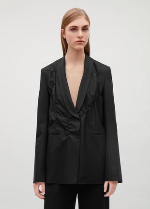 Женский жакет пиджак cos черный