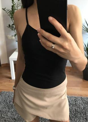 Юбка-шорты boohoo юбка-шорти спідниця очень стильная