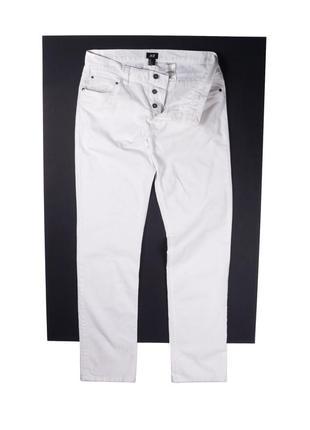 Белоснежные летние джинсы h&m