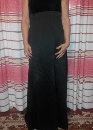 Брендовое вечернее платье в пол от alfred sung