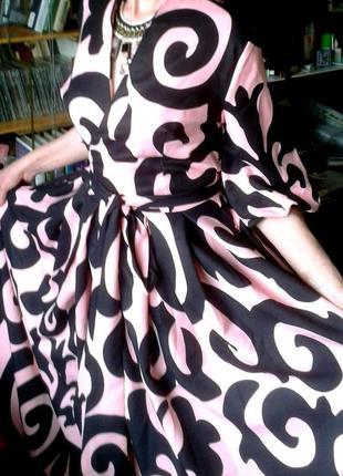 Шикарное платье на запах от behcetti италия