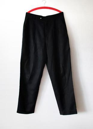 Мужские винтажные брюки limit by jelmoli лен в составе высокая талия