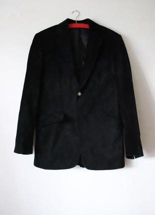 Мужской бархатный пиджак  versace