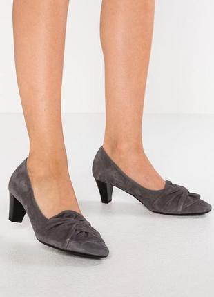 Германия gabor оригинал! элегантные туфли повышенного комфорта натуральная кожа 1000пар тут!