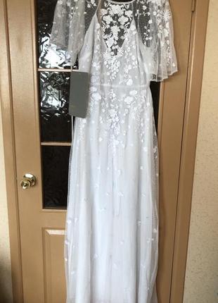 Свадебное платье asos в стиле бохо