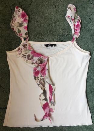 Красивая майка блуза размер s/m  per una