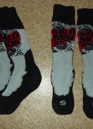 Шерстяные носки salomon