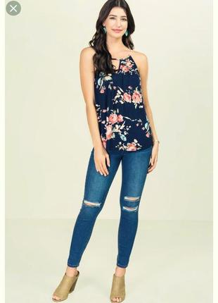 Классная летняя блузка  francesca's usa