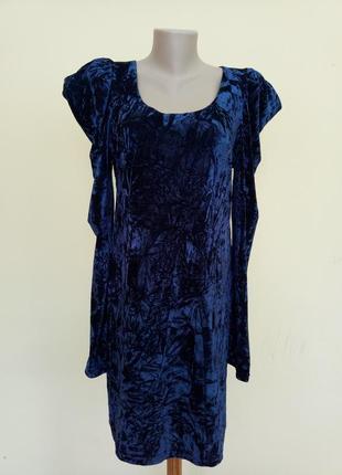 Итальянское бархатное нарядное платье