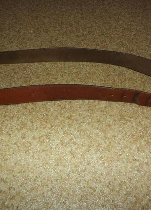 Винтажный кожаный ремень levis3 фото
