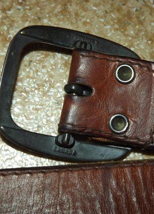 Винтажный кожаный ремень levis5 фото