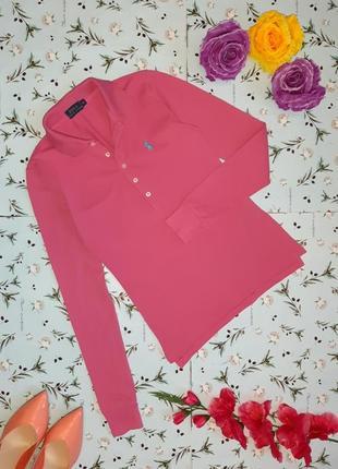 -50% на 2-ю единицу стильный розовый легкий свитер поло ralph lauren, размер 40 - 42