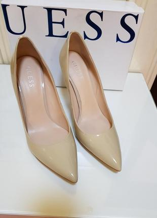 Нюдовые туфли от guess2 фото