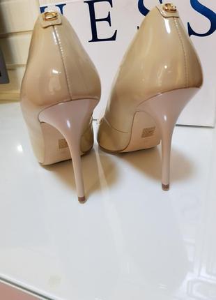 Нюдовые туфли от guess3 фото
