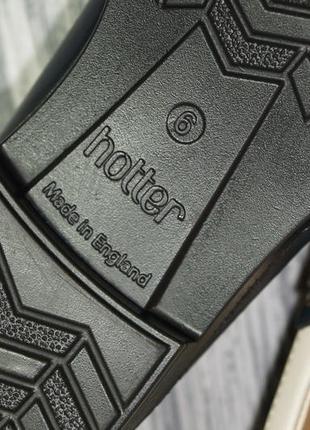 Hotter. англия. кожа. фирменные туфли, лоферы на низком ходу5 фото