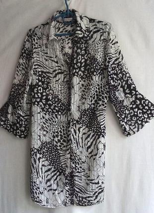 Лёгкая шифоновая туника, платье