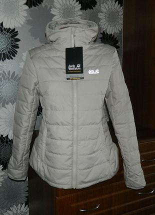 Jack wolfskin термо куртка серая оригинал m 38 12 46