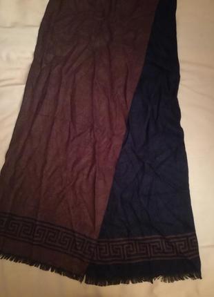 Распродажа шелковый шарф версаче принт