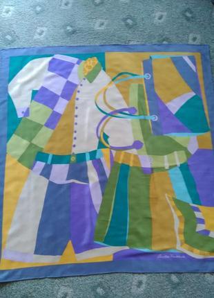 Шикарный шёлковый платок christian firshbacher