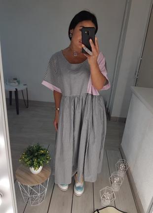 Платье овэрсайз2 фото