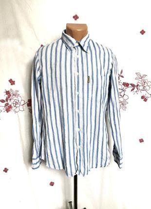Оригинальная полосатая рубашка люкс
