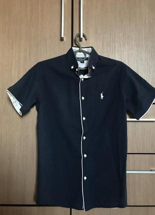 Мужская рубашка ralph polo 100% оригінал