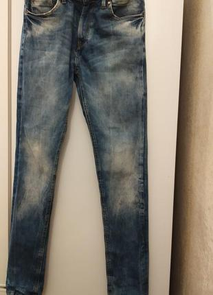 Скилка!!!! брендовые джинсы мужские skinny fit3 фото