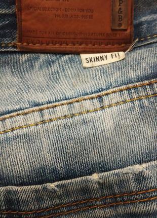 Скилка!!!! брендовые джинсы мужские skinny fit5 фото