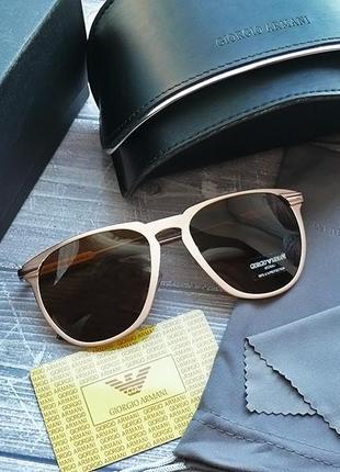 Женские очки в золотистой оправе, новые, комплект