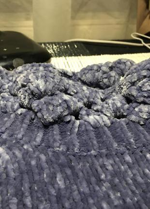 Плюшевый свитер оверсайз9 фото